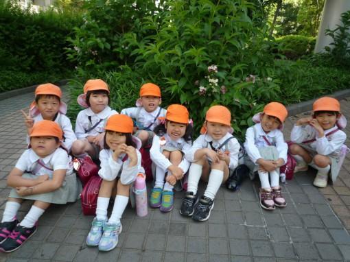幼稚園児年長 年長クラスの保育参観と懇談会をしました || 奈良文化幼稚園