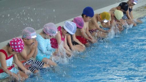 年長 水泳指導①