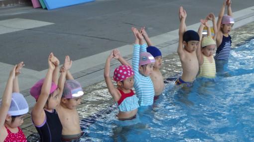 年長 水泳指導②