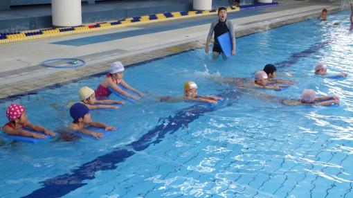 年長 水泳指導③