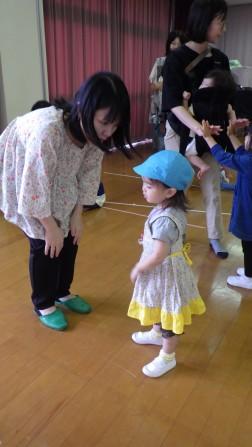 パピー 親子ダンス練習①