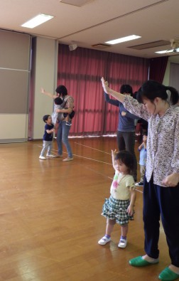 パピー 運動会の練習②