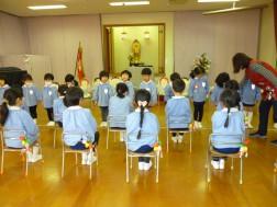 卒園式の練習⑤