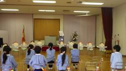 卒園式の練習③