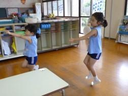 盆踊りの練習④