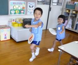 盆踊りの練習⑤