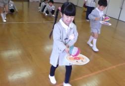 紙風船リレー②