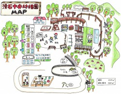 滑石中央幼稚園MAP